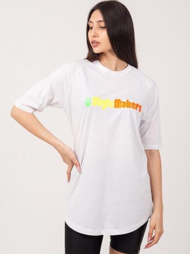 Boyfriend t-shirt λευκό TS232